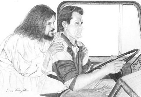 driving with Jesus
